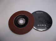 "BAOSTC 5"" aluminum oxide flap disc grinding wheels for angle grinder"