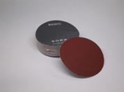 "BAOSTC 5"" no holes PSA sanding disc,red aluminum oxide"