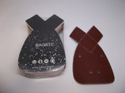 "BAOSTC 3-3/4""*6-1/2"" Assorted 60-80-120 mouse hook and loop sanding disc for BLACK&DECKER mouse sander 50PACK"