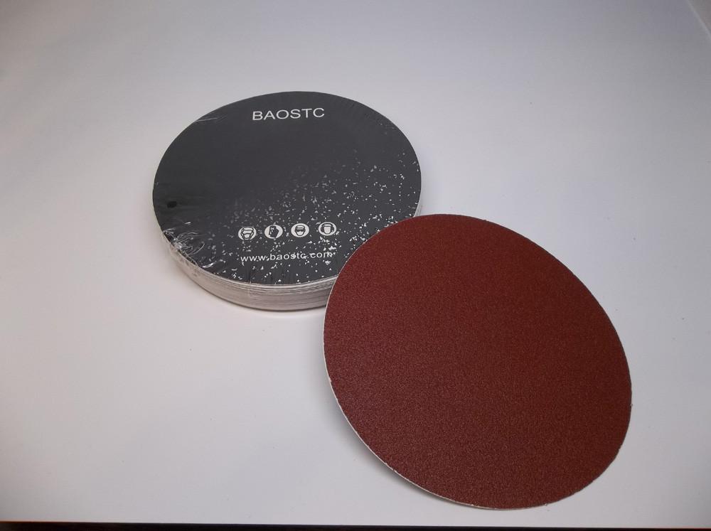 "BAOSTC 6/"" 9 holes assorted60-80-120,hook and loop sanding disc,50PACK"