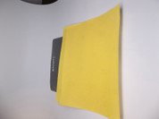 "BAOSTC Sandpaper sheet,White aluminum Oxide,yellow color,9""*11"" 10PACK assorted 3*P180 4*P220 3*P320"