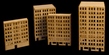 6mm Tall City Buildings (Matboard) - 285CSS031