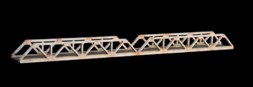 Truss Bridge, Double Span, 1 Lane  (Acrylic) - 285ROAD038-1