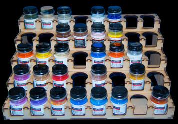 Paint Rack - 32mm Model Master