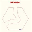Curved River Hex - 285HEX024