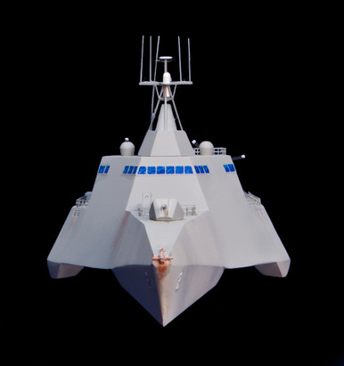 USS Independence LCS-2 in 1/285th scale by GameCraft Miniatures