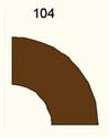 90 Degree Curve, Dirt Road - 285FELT104
