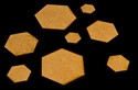 ".75"" (19mm) Hex Base (MDF)"