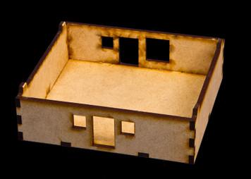 """15mm """"Stackable"""" Building, Ground Floor (MDF) - 15MMDF104-1"""