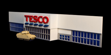 15mm Tesco Store (MDF) - 15MMDF401