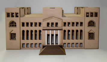 15mm WWII Government Building (MDF) - 15MMDF350-2