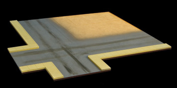 4 Way Intersection for Gas Station (MDF) - 15MMDF054