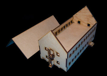 Barracks (MDF) - 15MMDF125