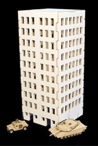 City Building (MDF) - 15MMDF007