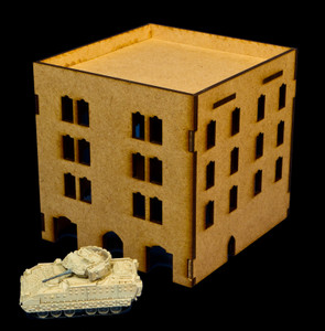 Middle East Four Story Building (MDF) - 15MMDF051