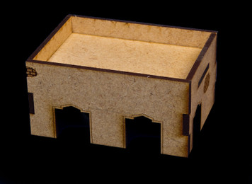 Middle East One Story Building (MDF) - 15MMDF014