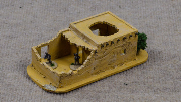 Ruined Afghan Style Hovel (MDF) - 15MMDF073