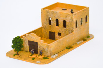 Walled Compound With Removable Roof (MDF) - 15MMDF031-R