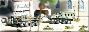 LAV LOG+C2 Logistic and Command-Control vehicles (2/3 /pk)  - N109