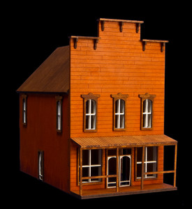 Old West Two Story Building - 15MWEST002