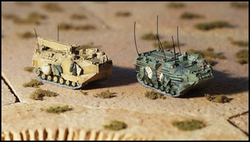 AAVC-7 A1 COMMAND and AAVR-7 A1 ENGINEER (1/3/pk) - N144