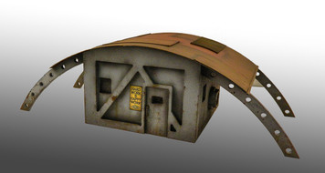 Small Human Refugee Hut - 15MTW005