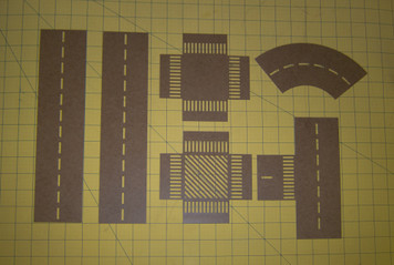 Road Marking Stencil Set (15mm-20mm)