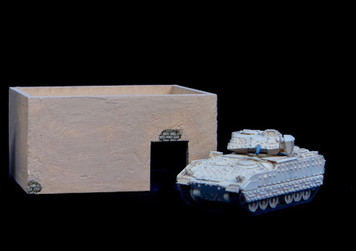 Middle East One Story Building With Removable Roof - 20MMDF010-R