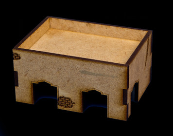Middle East One Story Building With Removable Roof - 20MMDF014-R