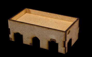 Middle East One Story Building - 20MMDF015