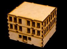 Ground floor with upper floor and top floor.