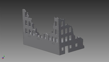 Ruined City Building - 20MMDF252