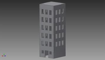 City Building - 20MMDF254