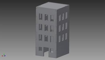 City Building - 20MMDF255