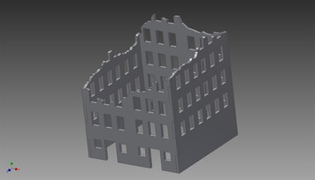 Ruined City Building - 20MMDF258