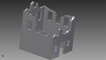 Ruined City Building - 20MMDF260