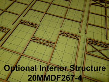 20mm WWII Government Building Internal Structure - 20MMDF267-4