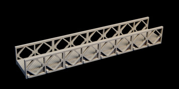 "Bailey Bridge, 11.25"" long - 20MMDF270-1"