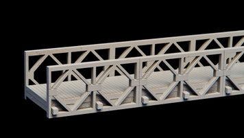 "Bailey Bridge, 22.5"" long - 20MMDF270-2"