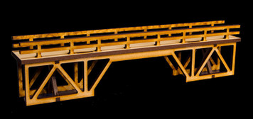 "15"" Elevated Pedestrian Walkway with Overpass - 28MTW038"