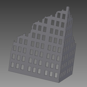 Ruined City Building - 28MMDF001-1