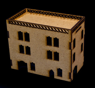 Middle East Three Story Building - 28MMDF023
