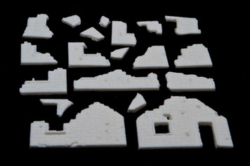 Rubbled Building Bits - 15MTAV027