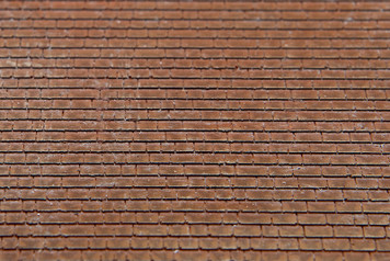Wood Shingle Roof, Full Sheet - Ultra Scale Series - 15MTAV076