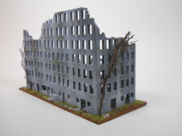 Ruined City Building (MDF) - 10MMDF006