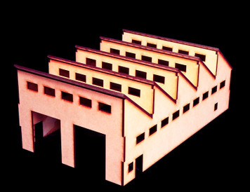 Factory (Wood) - 10MMDF113