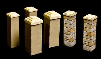 Tall wall posts - 20MBMC013