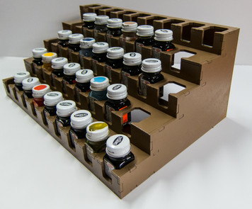 Paint Rack - Testors Square Enamels