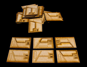 Wall Details (14 Pcs) - SPACE021