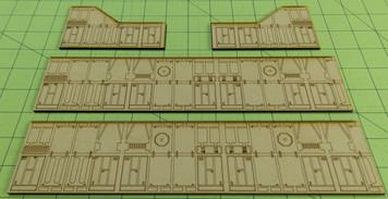 Detail Wall Set for Landing Bay - SPACE029-1